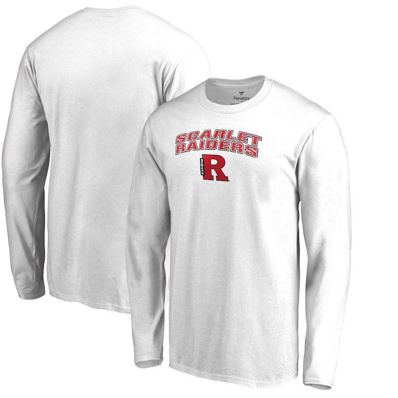 wholesale dealer 4a0ed 8608b Rutgers Newark Scarlet Raiders Proud Mascot Long Sleeve T ...