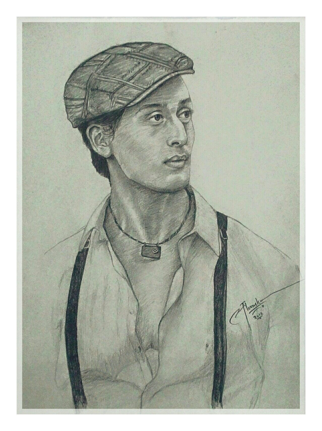 Tiger Shroff Sketch | Lucky Art | Pinterest | Lucky Art