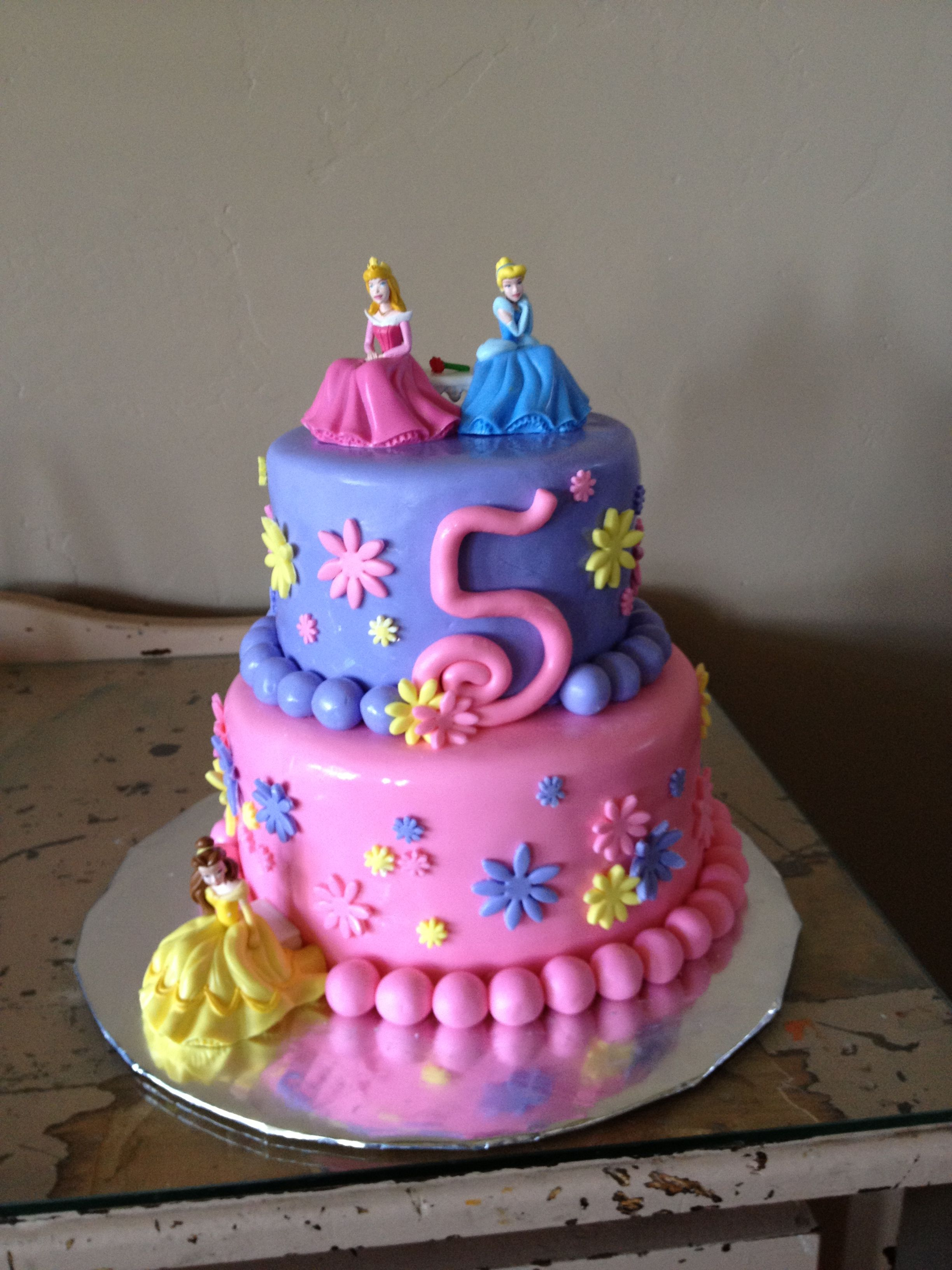 Princess Cake Princesses Bought On Amazon