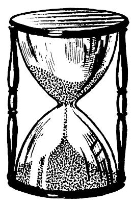 Hourglass Bw Hourglass Sand Clock Sand Timers