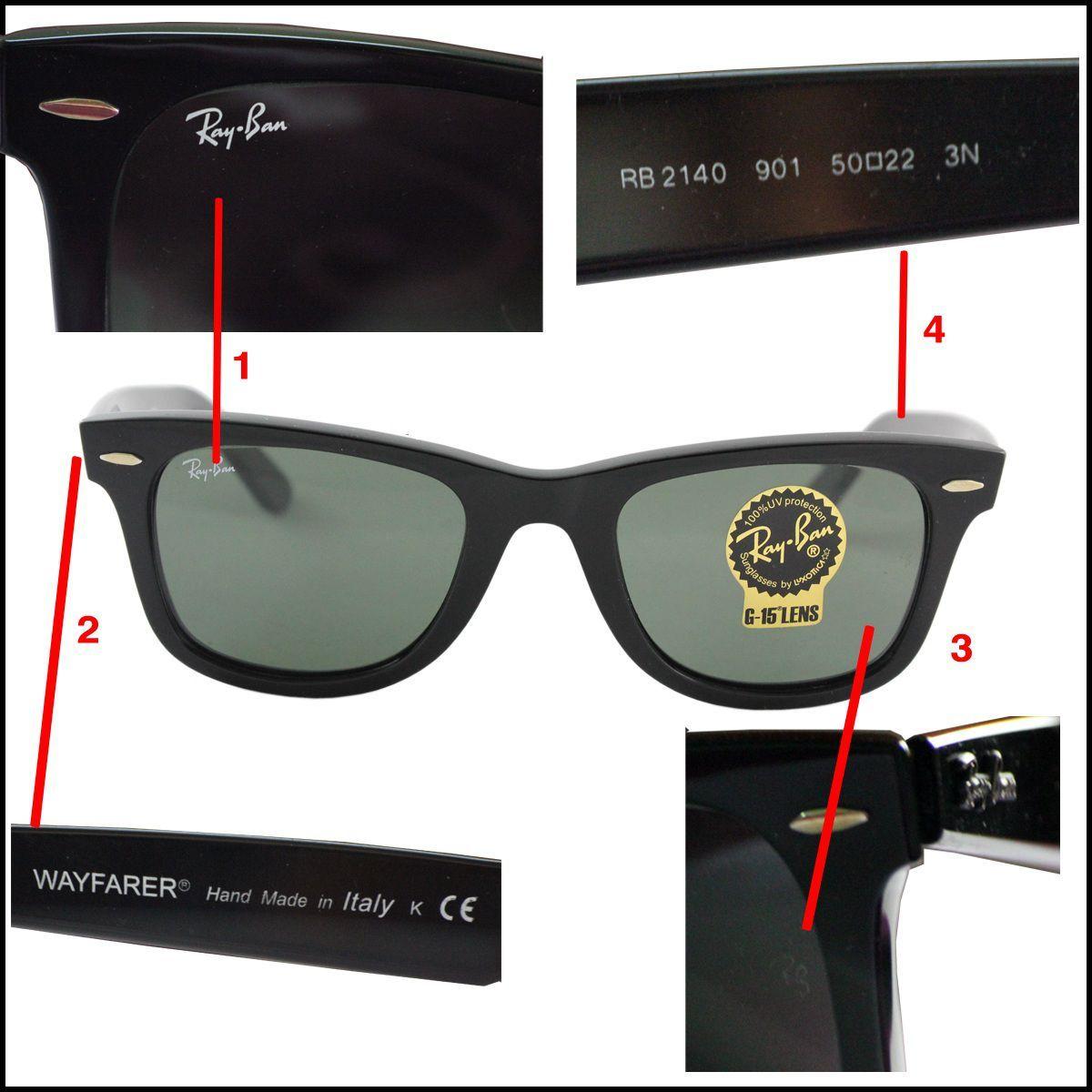 كيفية معرفة النظارات الشمسية الأصلية و التقليد Ray Bans Sunglasses Ray Ban Sunglasses Outlet
