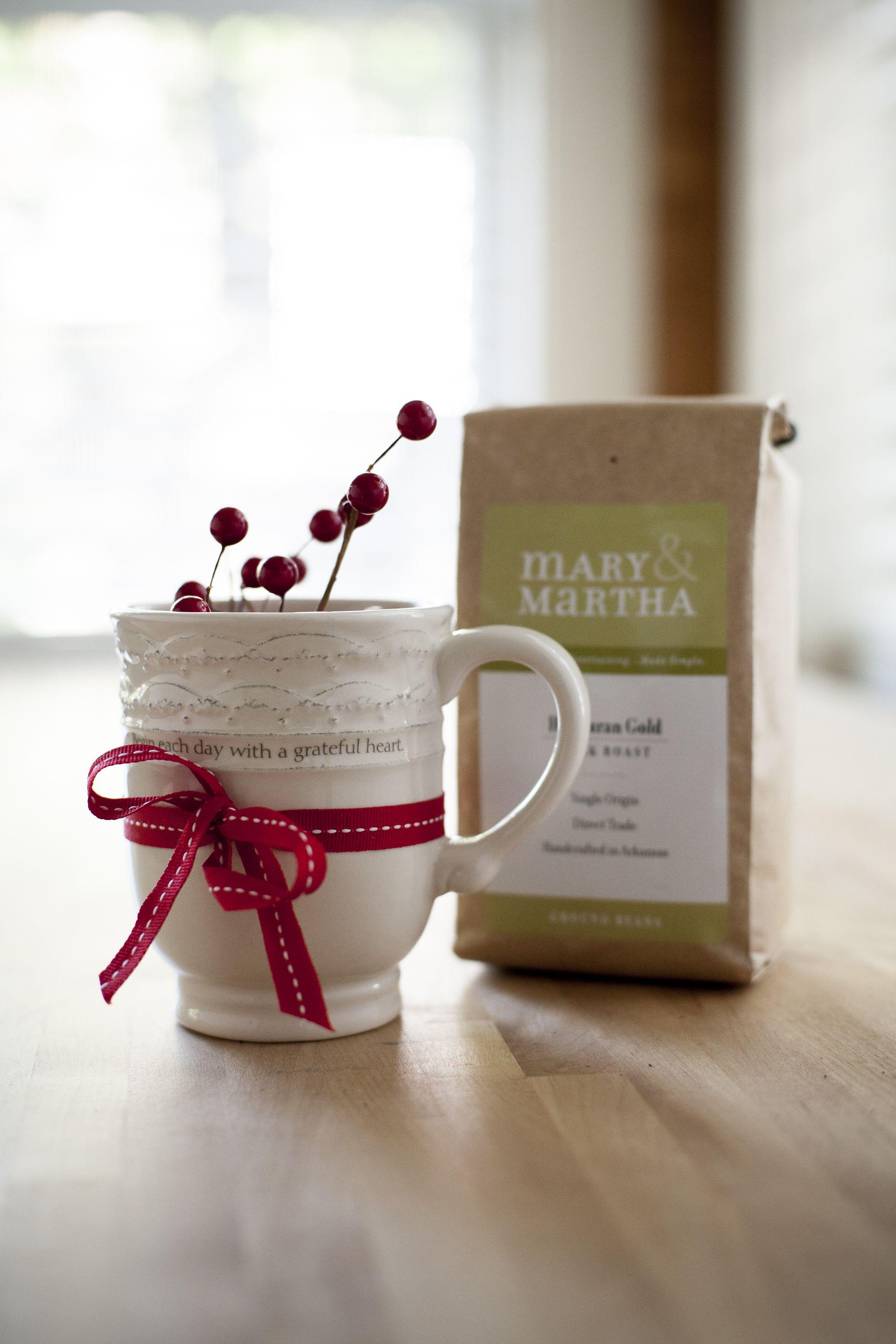 Coffee & Mug Set 28. Pair our Heirloom White Mug (12