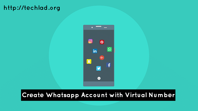 Want to create WhatsApp account with virtual phone number