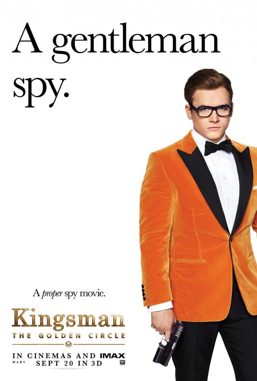 Kingsman The Golden Circle Posters Introduce The Key Players Kingsman The Golden Circle Kingsman Circle Movie