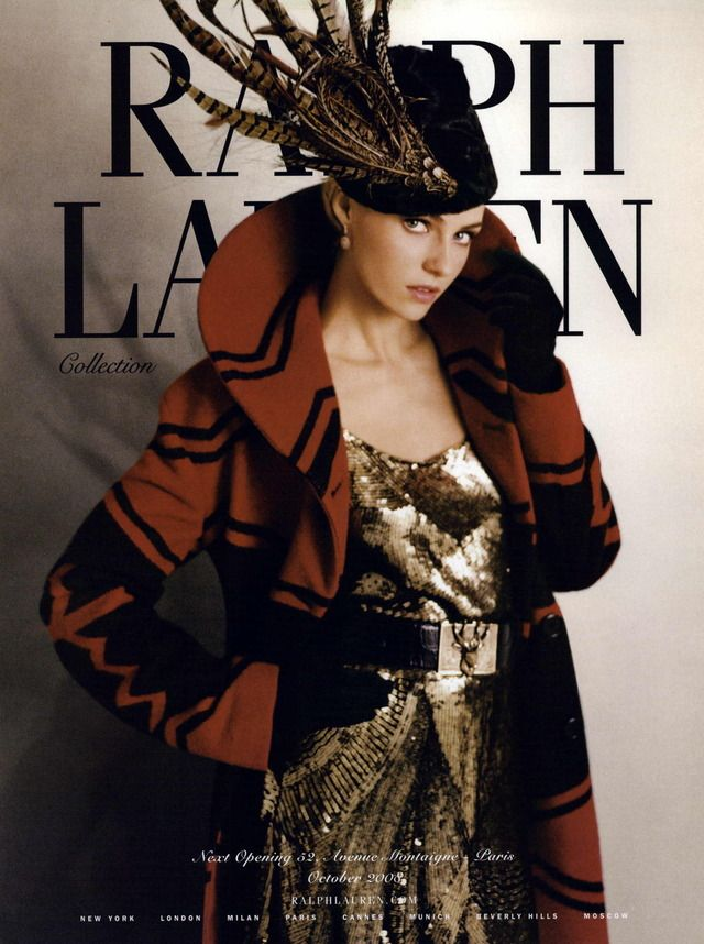 Ralph Lauren Collection Ad Campaign Fall/Winter 2008 Shot #4