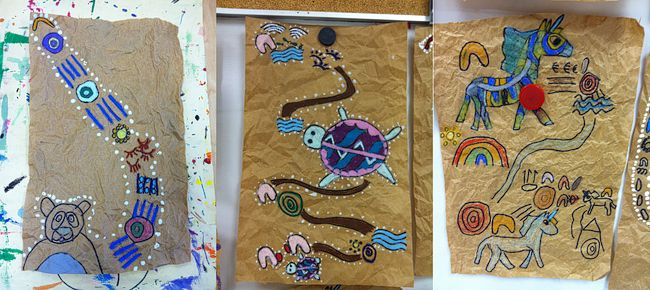Aboriginal Story Art Project