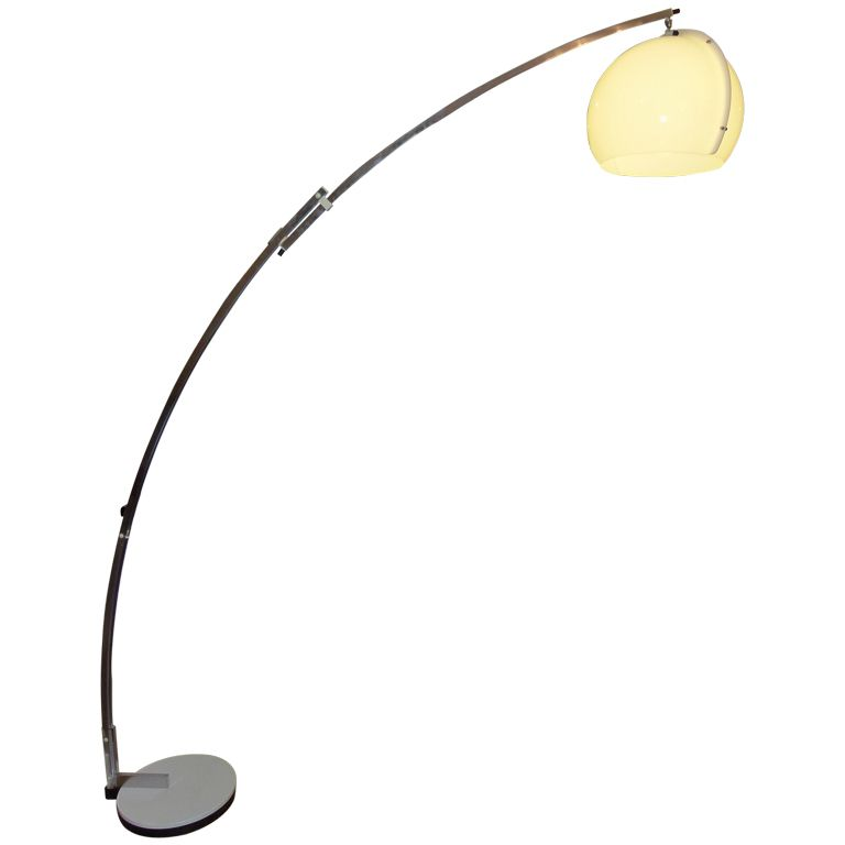 Vintage arc floor lamp by goffredo reggiani italy early 1960s for sale on a large very rare vintage reggiani arc floor lamp this early example dates from the early with its design attributed to goffredo reggiani mozeypictures Image collections