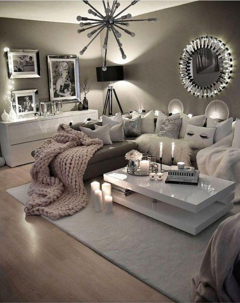 99 Beautiful White And Grey Living Room Interior: 82 Beautiful Grey Living Room Ideas Decorations 28 In 2019