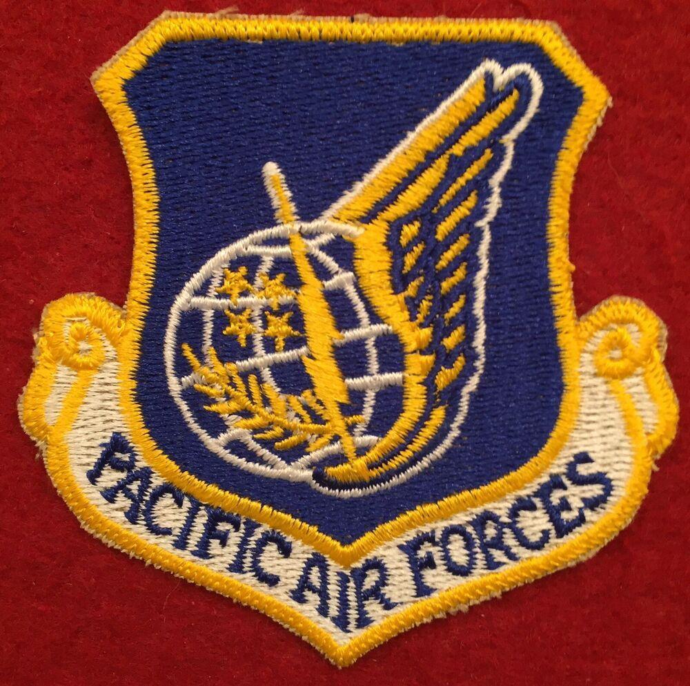 U.S. Air Force (U.S.A.F) Pacific Air Forces (PAF) Unit