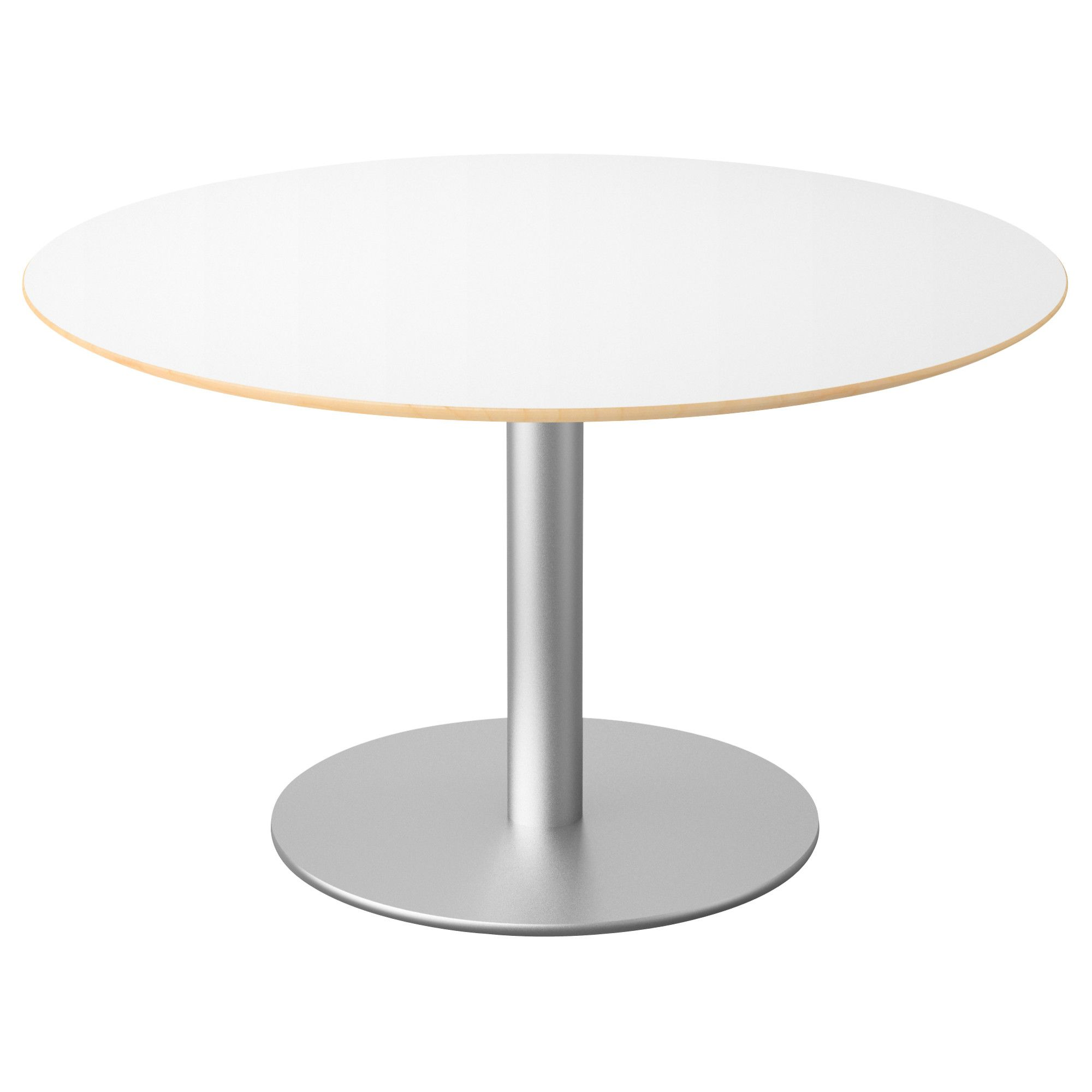 Round Table White Or Wooden