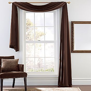 one side window treatment ideas pictures scarf valance ideas easy to find easier - Valance Design Ideas