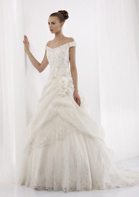 Collezione abiti da sposa #Jolies, abito da #sposa modello JOAB13421IV