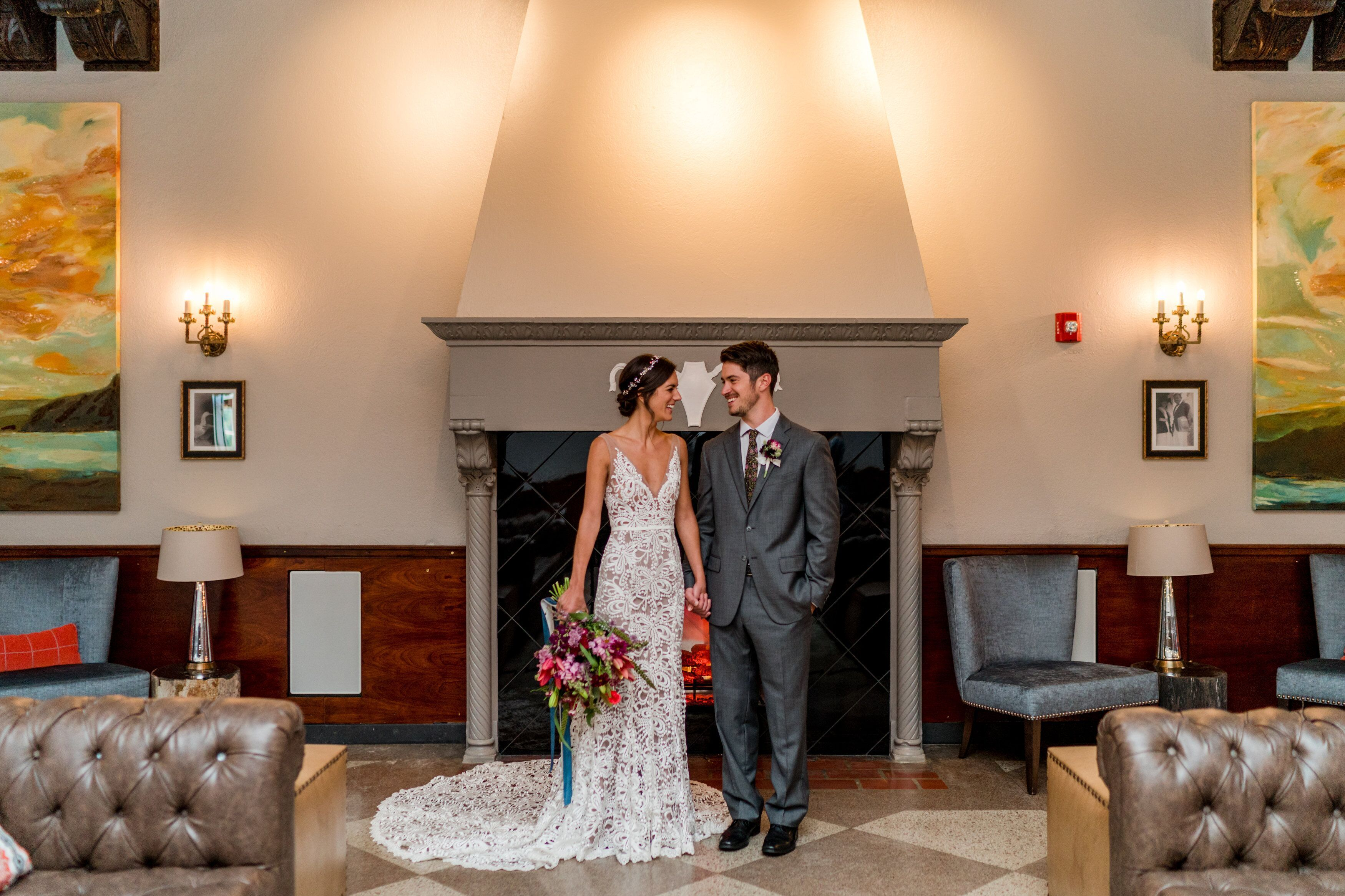 An adirondack wedding venue with a touch of today and