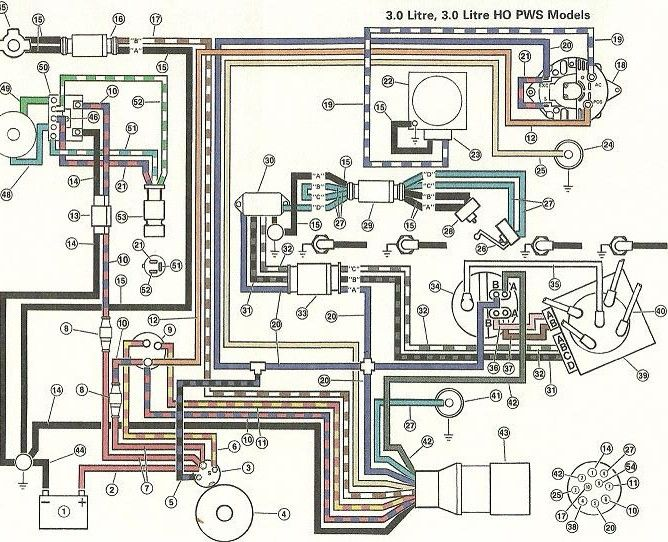 4 Cyl Volvo Penta Electrical Diagram Wiring Diagram Schema