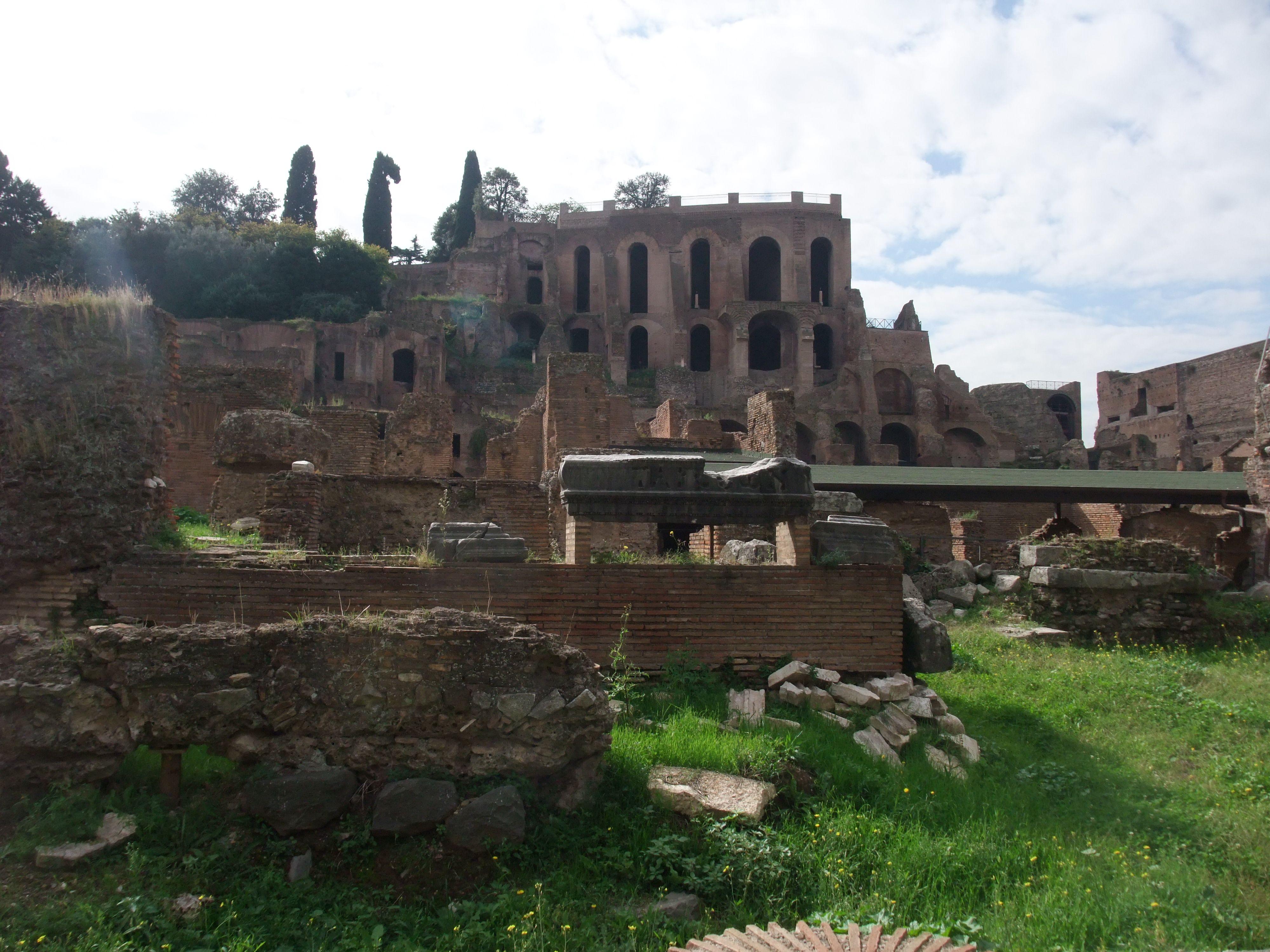 Rome-Forum Romanum. Neem de tijd om het Forum te bezoeken en koop een kaart van de site en een goede reisgids want de beschrijving op de borden is beperkt.