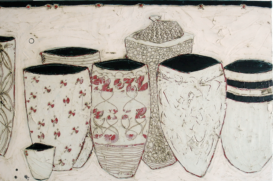 A Beautiful Convergence of Vessels - rendered to perfection by Karen Tusinski