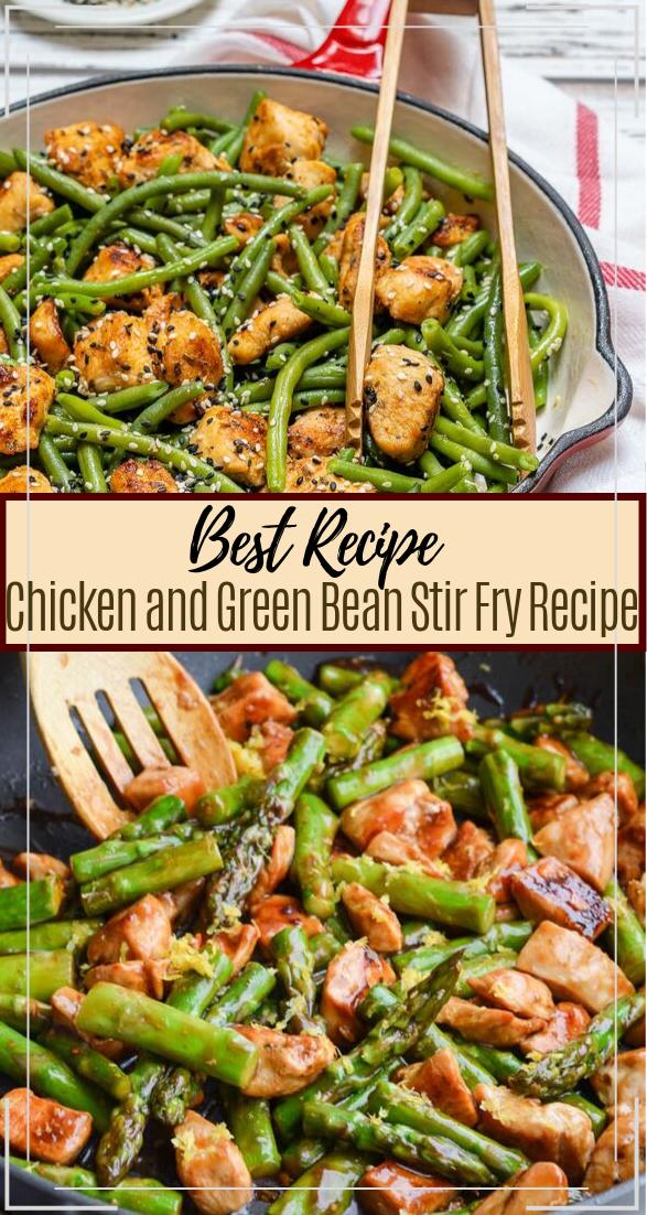 Chicken and Green Bean Stir Fry Recipe #healthyfood #dietketo #breakfast #food #healthystirfry Chicken and Green Bean Stir Fry Recipe #healthyfood #dietketo #breakfast #food