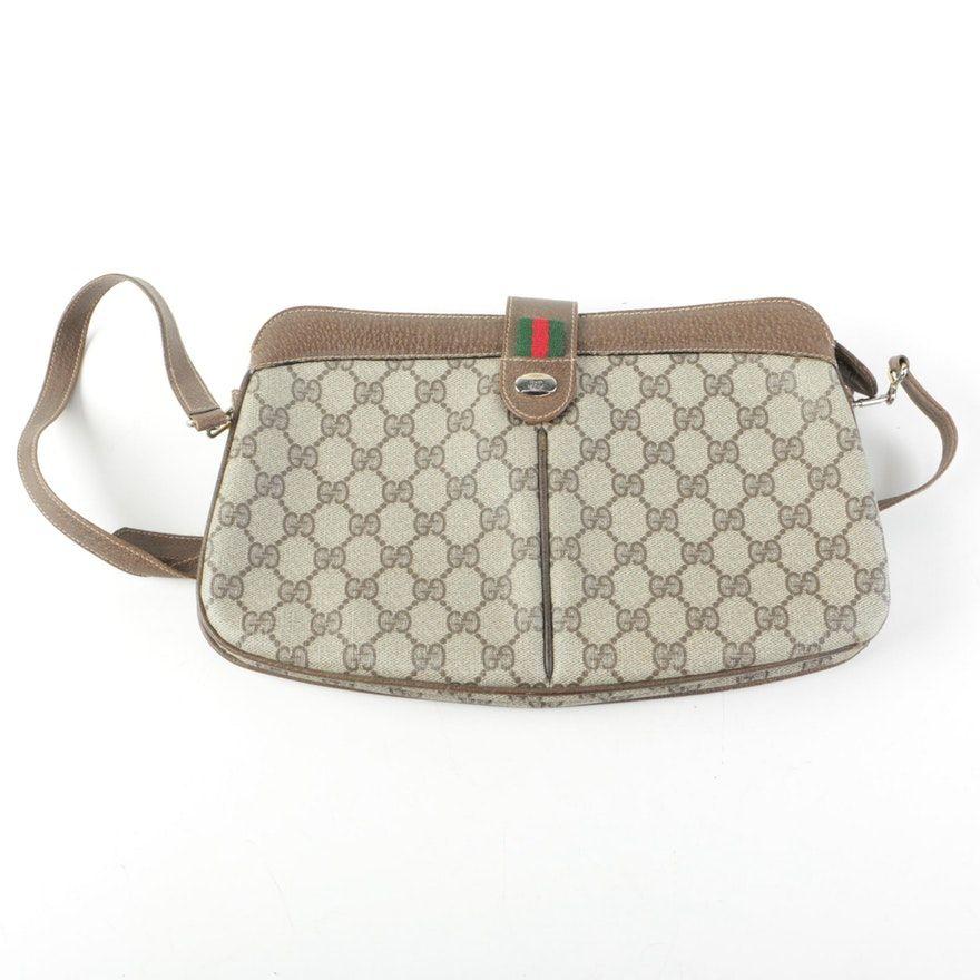 349e4357ddf Vintage Gucci GG Supreme Canvas Bag