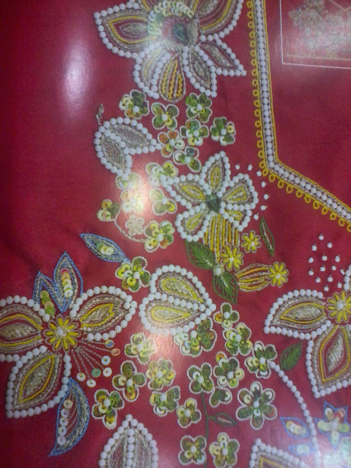 Embroidery aari maggam work designs pinterest