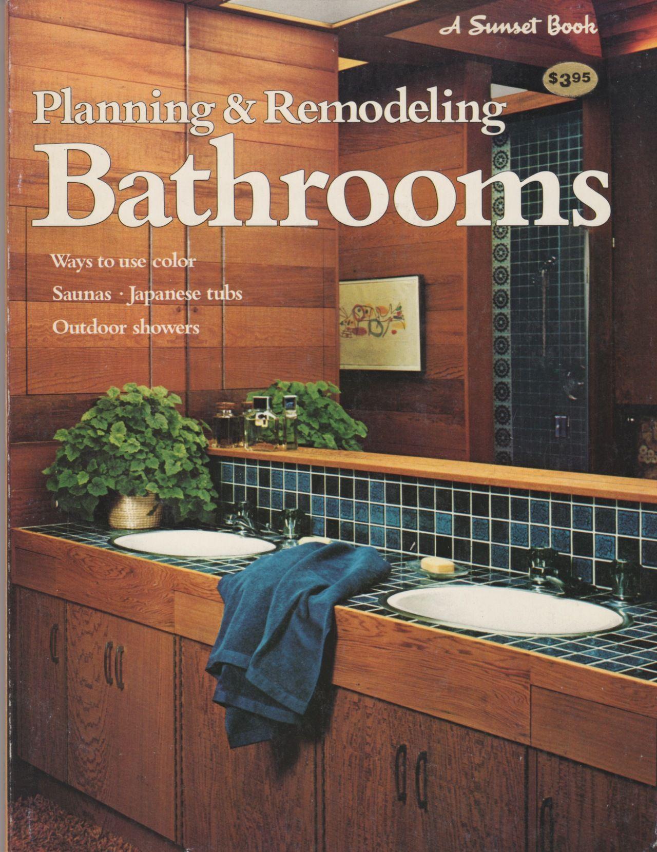 Planning Remodeling Bathrooms A Sunset Book Lane - Bathroom remodel books