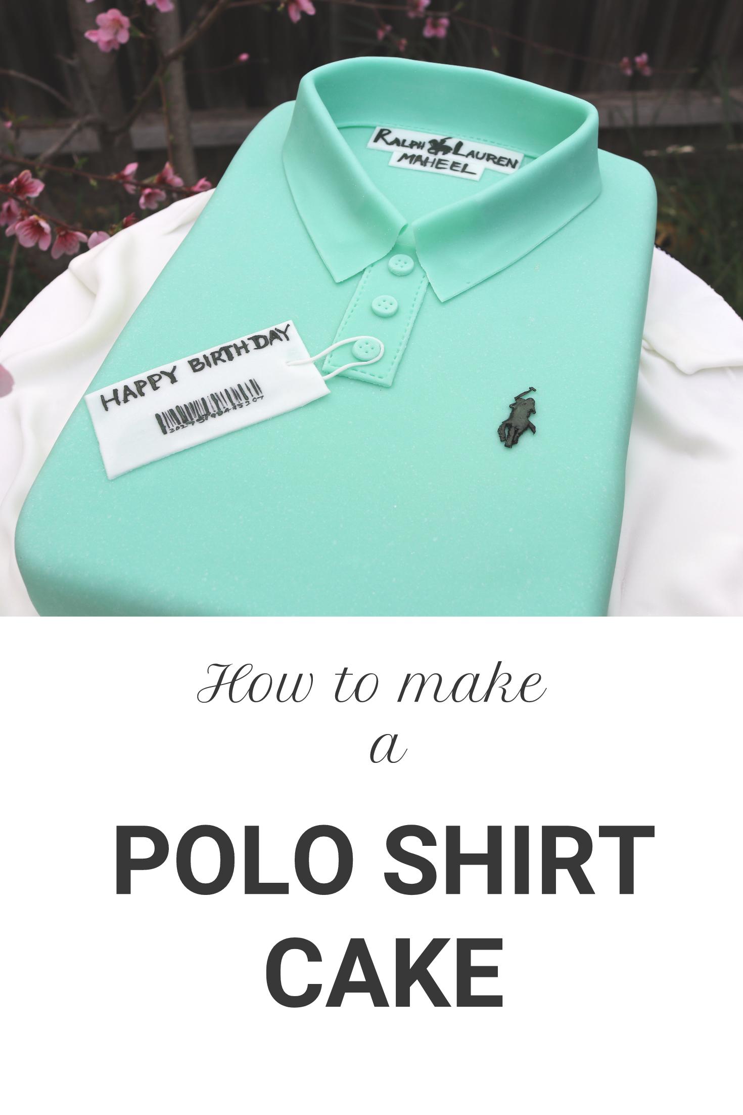 Imgenes De How To Make A Polo T Shirt Cake