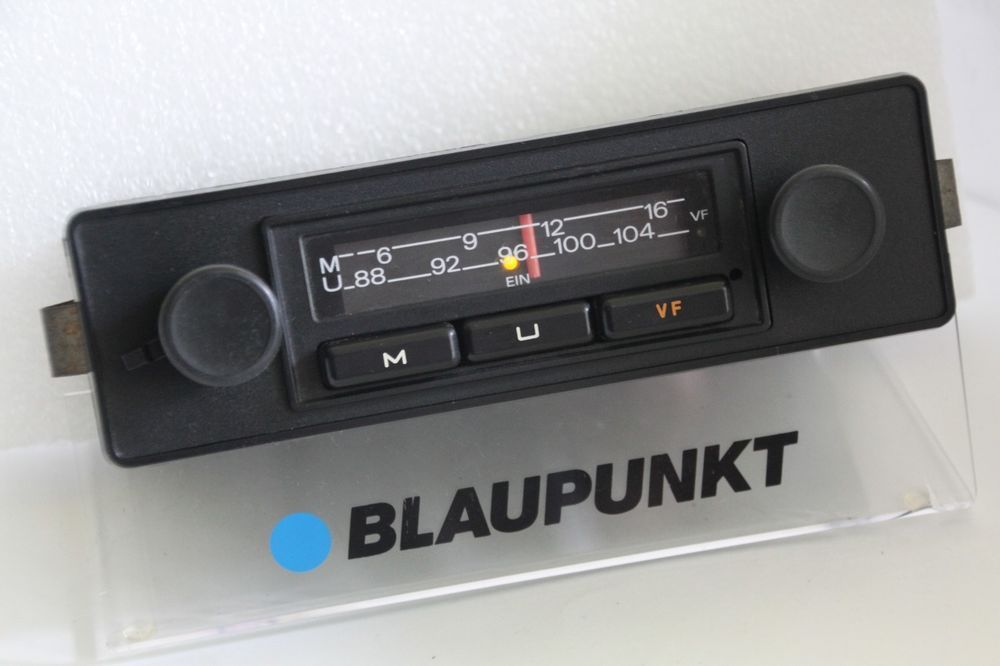 GRUNDIG BRAUNSCHWEIG 2 CLASSIC VW BEETLE PORSCHE 1970s FM
