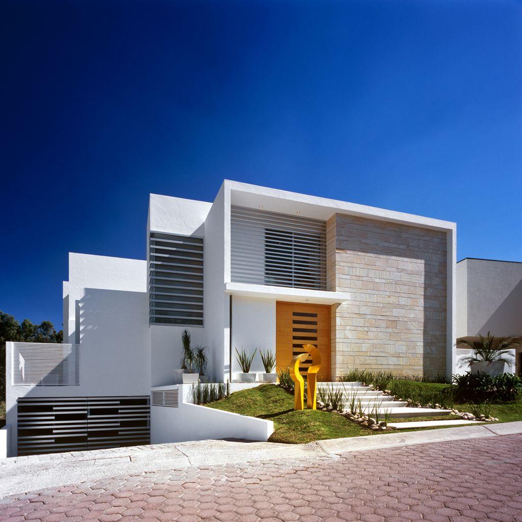 M house by agraz arquitectos casas pinterest for Casa minimalista contemporanea