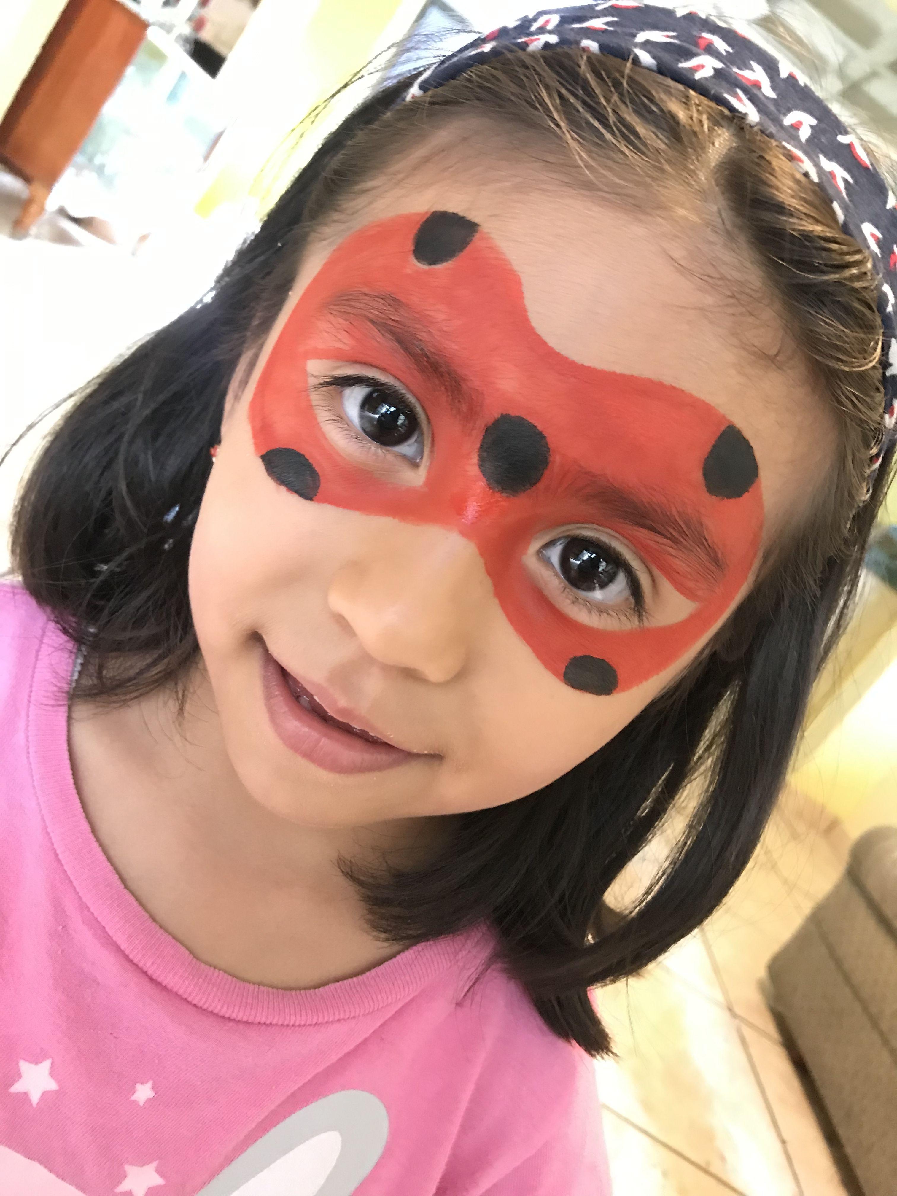 Lady Bug Kinderschminken Kinder Schminken Schminkvorlagen