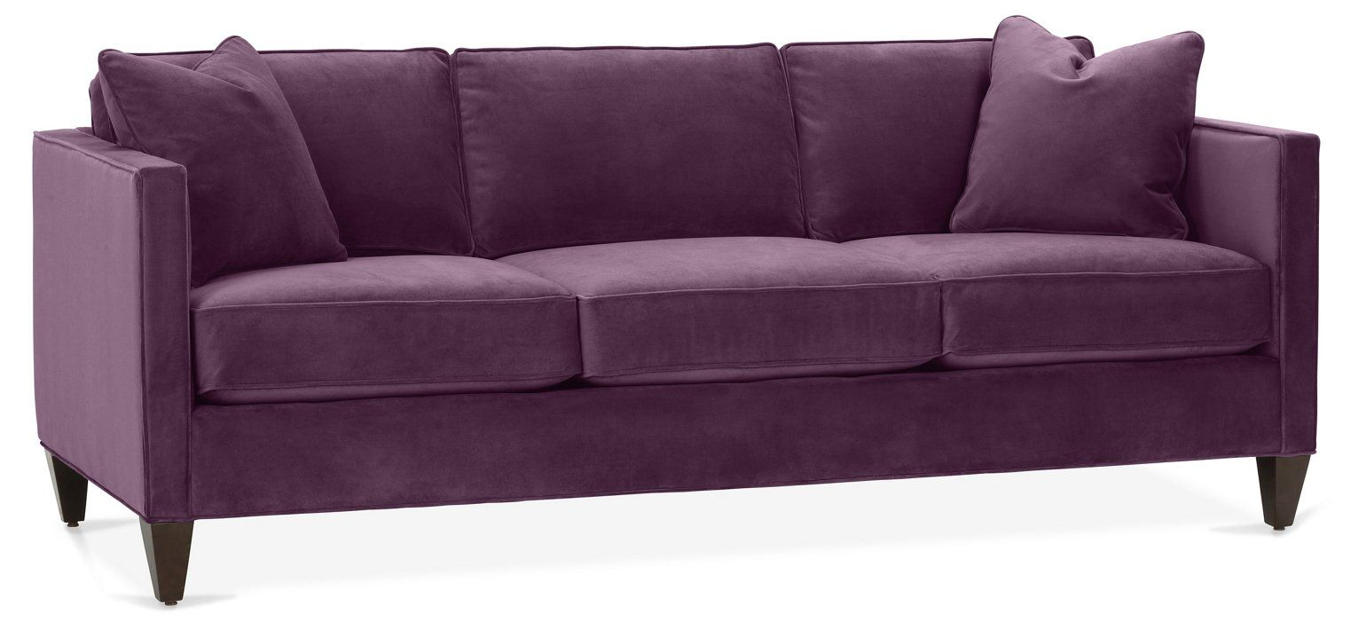 Cecilia Sofa Fig Velvet Sofas Sectionals Furniture