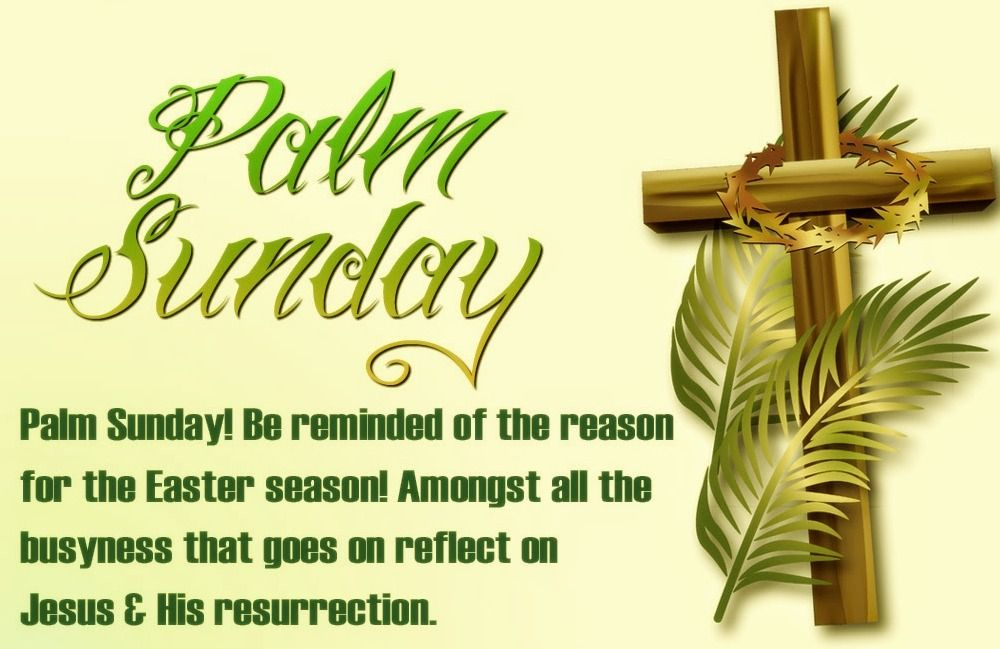 palm sunday 2020 quotes from the bible