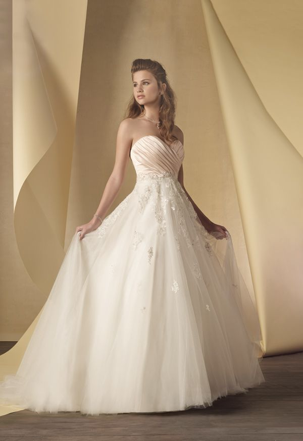 2014 Runway Trends with Alfred Angelo showing blush and ivory ...