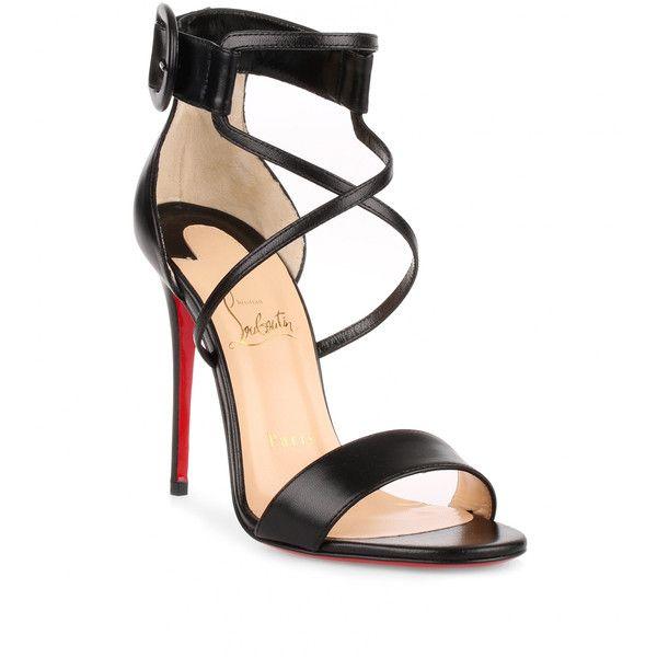 Heels, Strappy high heels sandals