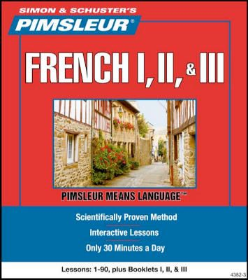 Pimsleur French 1, II, III (disc cds) | French Language
