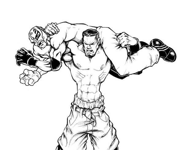 Wwe wrestling coloring pages art and craft d i y things for Wwe raw coloring pages