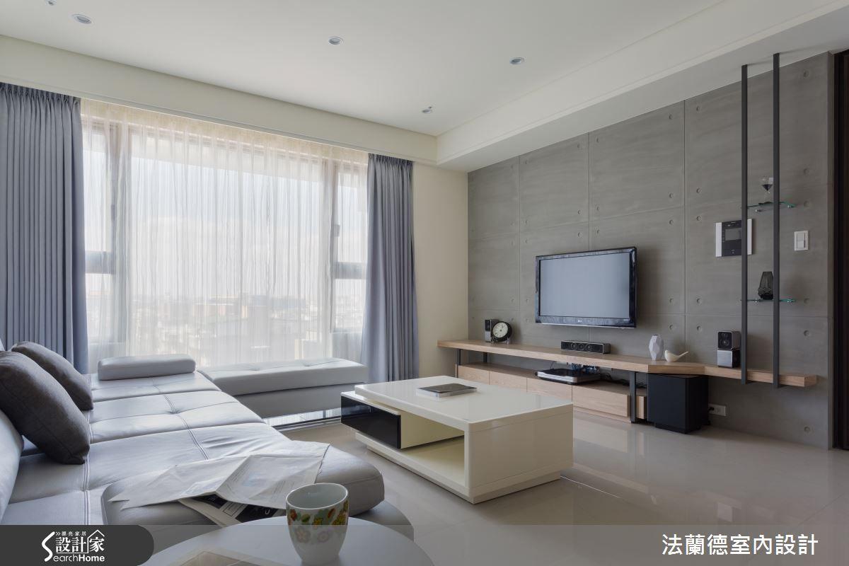 40 坪的灰調現代宅 給你城市中的歸屬感 | 設計家 Searchome