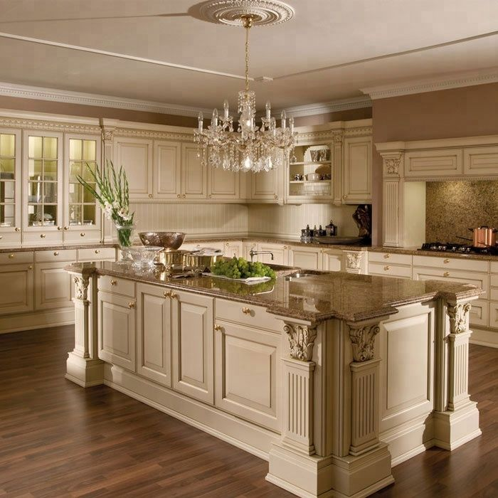 Imported modular kitchen cabinets with wooden kitchen ...