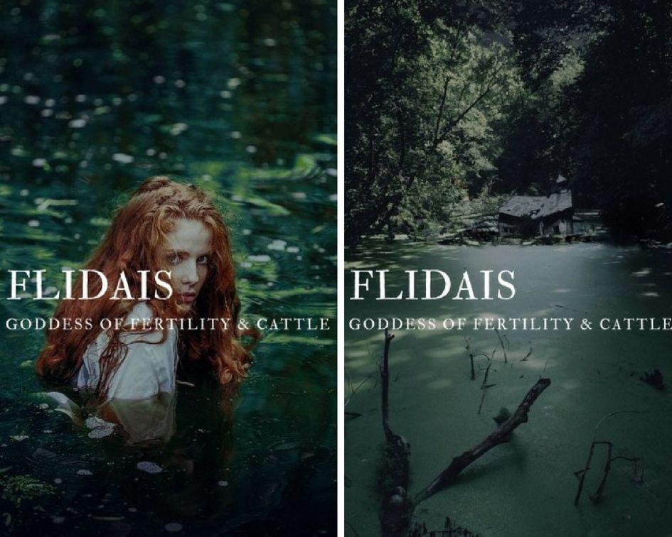 flidais (fliodhas) - irish goddess of fertility & cattle