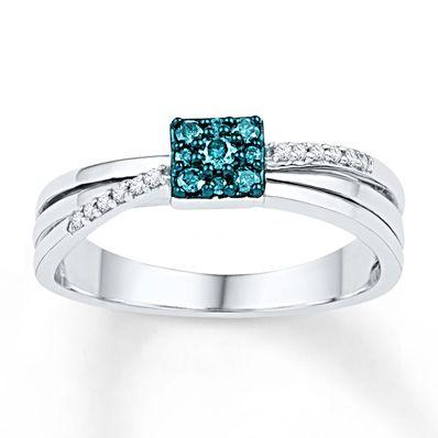 Artistry Diamonds Diamond Ring 1/3 cttw Round-cut Sterling Silver/10K Yellow Gold qZ5JqP