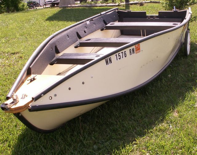 Fold up boats like a great dingy or what have ya for Portable fishing boat
