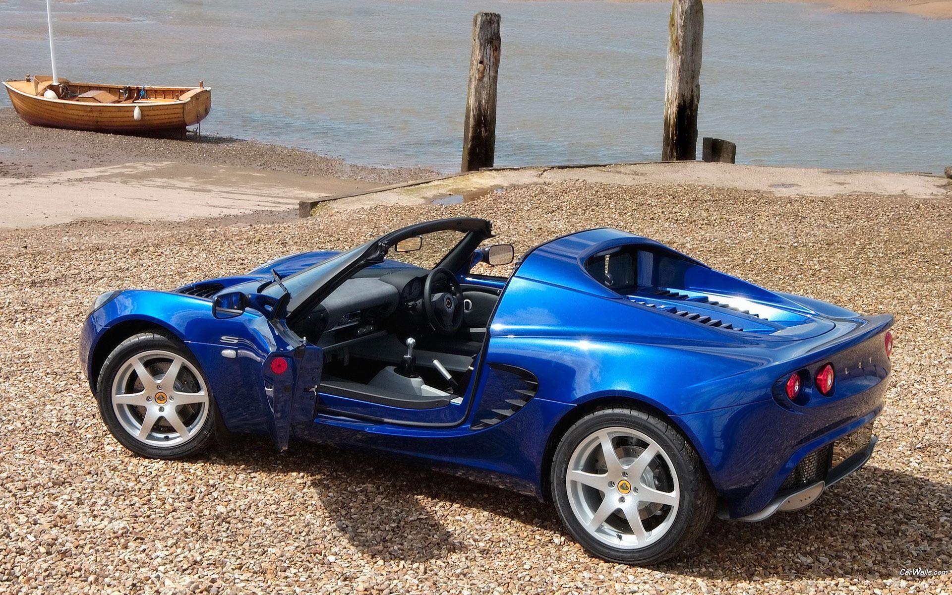Lotus Elise, Cabriolet, Blue