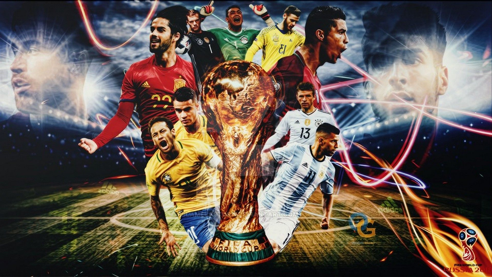 Wallpaper hd 2018 world cup wallpaper world cup russia - Brazil football hd wallpapers 2018 ...
