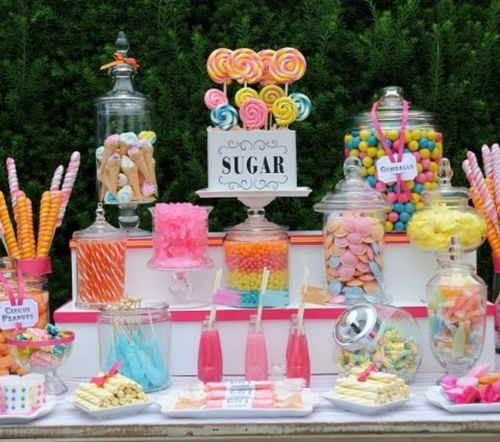 candy sweet 16 table | sweets | sweet 16 | Candy bar ...