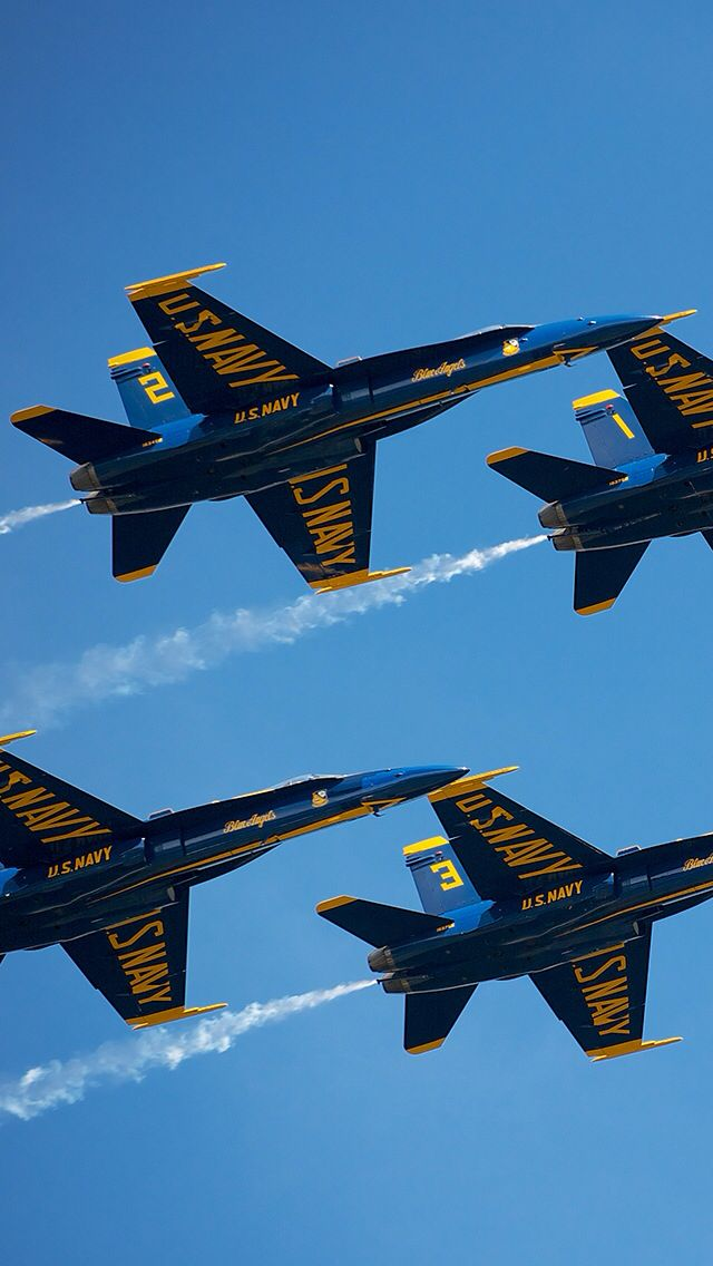 Blue Angels Iphone Wallpaper Background Wallpaper Backgrounds Fighter Jets Iphone Wallpaper