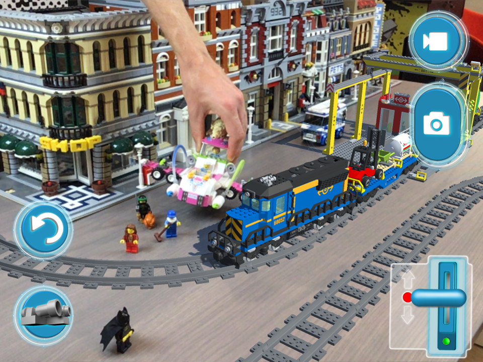 New LEGO Augmented Reality App Is The Best Open-World LEGO Video ...