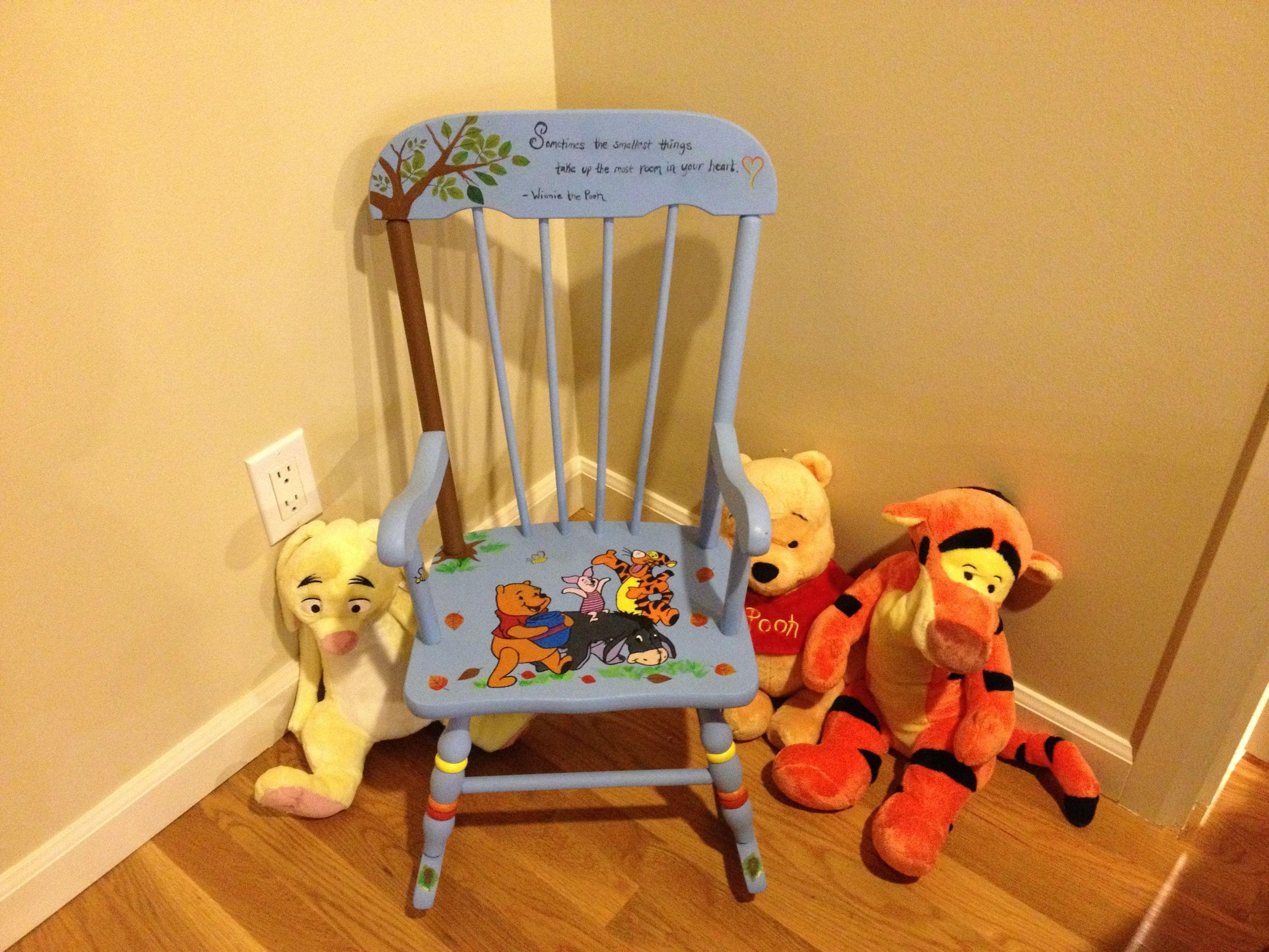 Fun Winnie the Pooh chair