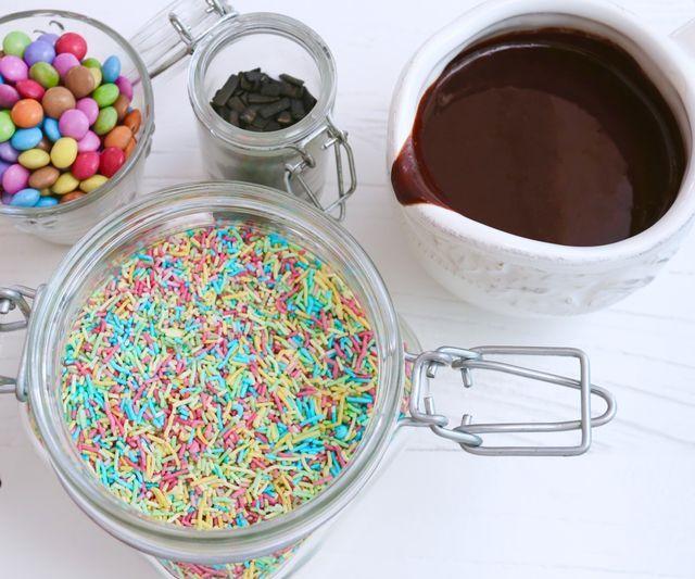 Varm chokladsås