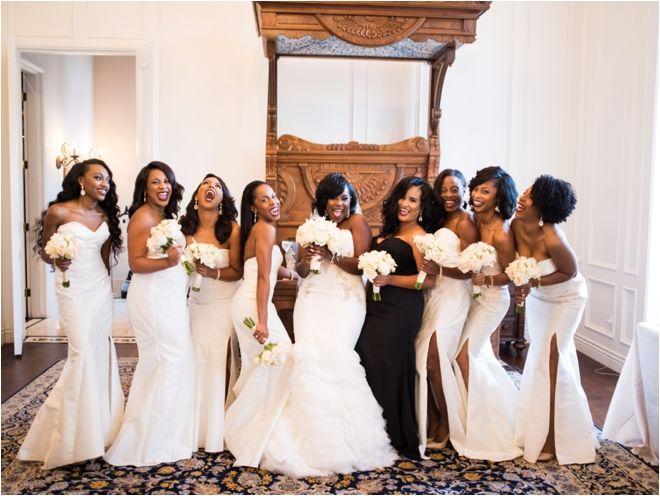 White Bridesmaids Dresses White Black Wedding Ideas Photo Civic Photos Wedding Dress Brickhou Bridesmaid Bridal Bridesmaid Dresses Bridesmaid Dresses