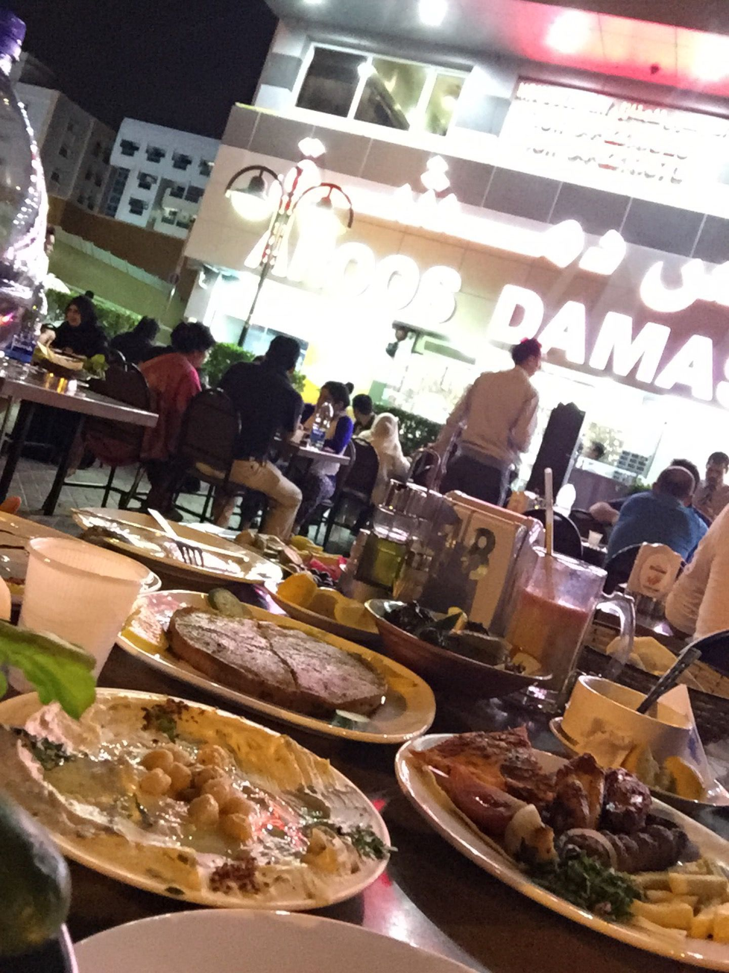 Aroos Damascus Restaurant مطعم عروس دمشق Lebanese Cuisine Damascus Food