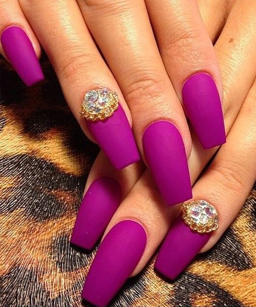 New Bright Color Prom Nail Art Designs 2016