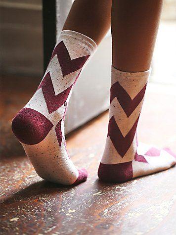 Autumn Daze Crew Sock